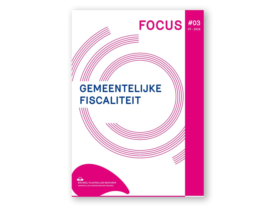 De cover van de Focus over de gemeentelijke fiscaliteit
