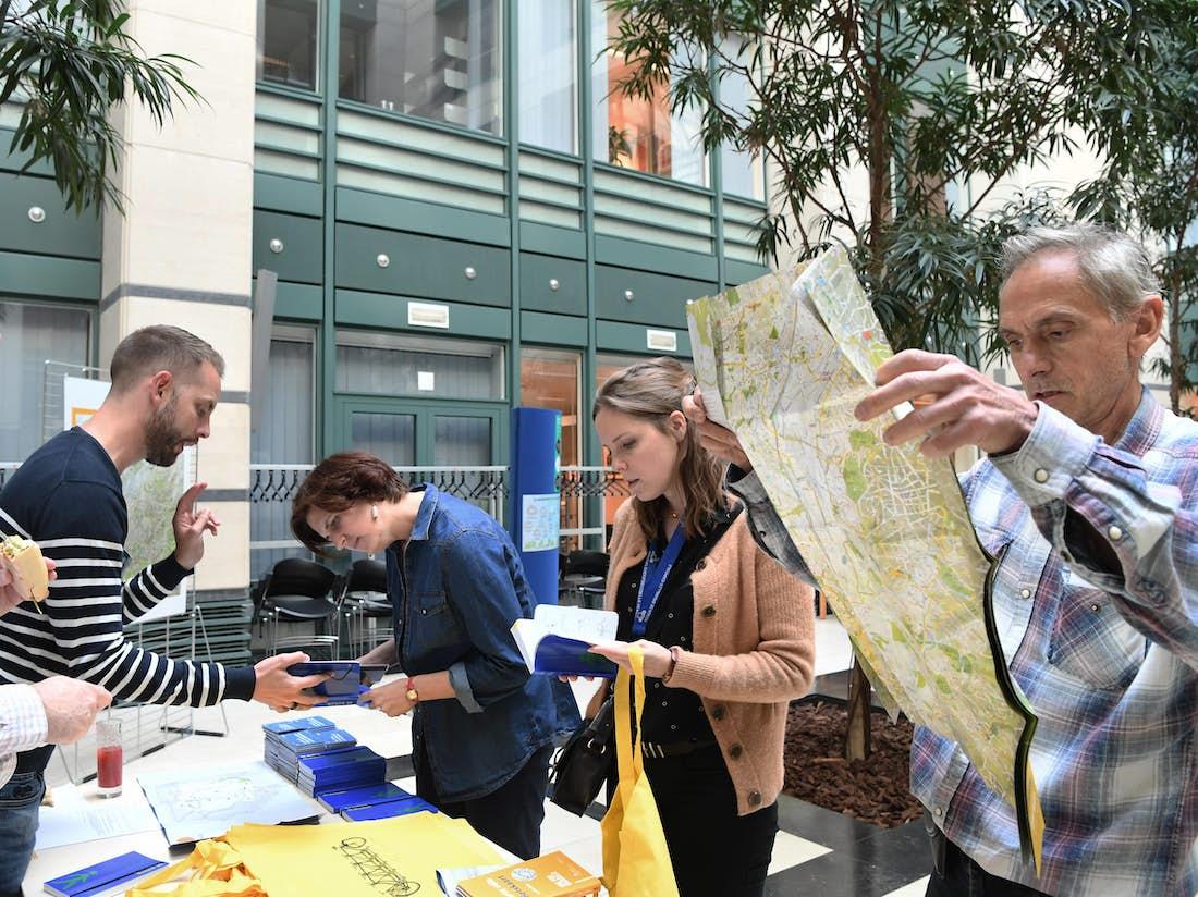 Le Midi éco-mobilité organisé au Service public régional de Bruxelles