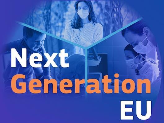 Logo van Next Generation EU